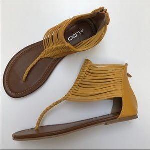 ALDO gladiator sandals NWOT